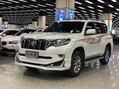 2018年6月 丰田 普拉多 3.5L 自动TX-L NAVI后挂备胎图片