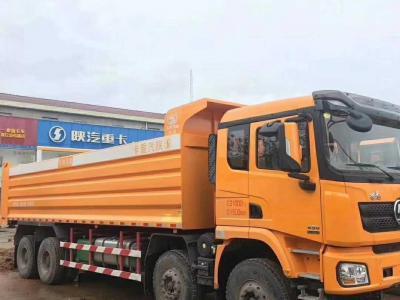 2018年12月 陕汽德龙X3000前四后八自卸,国五排放图片