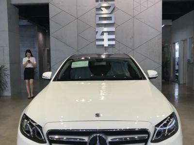 奔驰 奔驰E级  2019款 改款 E 300 L 运动豪华型