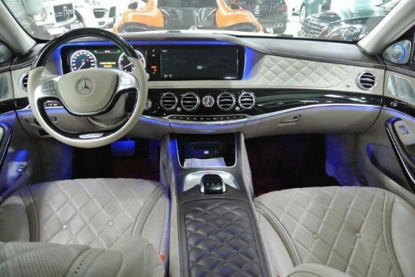 【杭州】2015年1月 奔驰 迈巴赫s级 迈巴赫奔驰s600l欧规顶配 白色 手图片