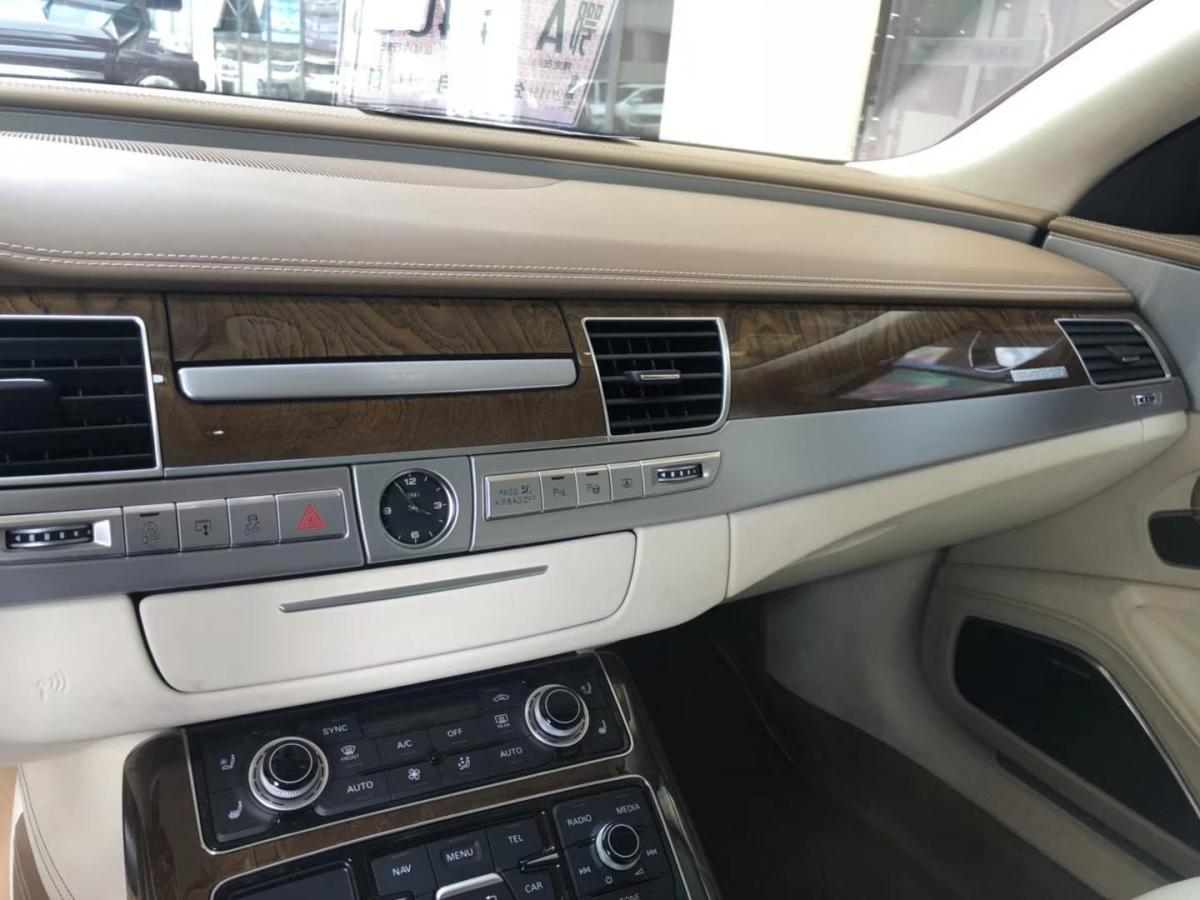 奥迪 奥迪A8  2017款 A8L 6.3 FSI W12 quattro旗舰型图片