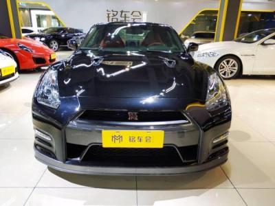 日产 GT-R  3.8T Premium Edition 棕红内饰图片