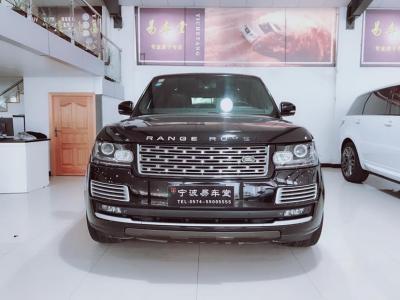 路虎 攬勝行政版  2013款 5.0L NA Vogue汽油型圖片