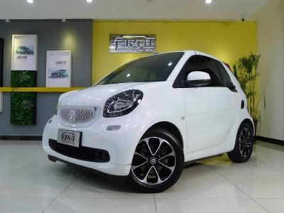 smart fortwo  2018款 1.0L 52千瓦敞篷激情版
