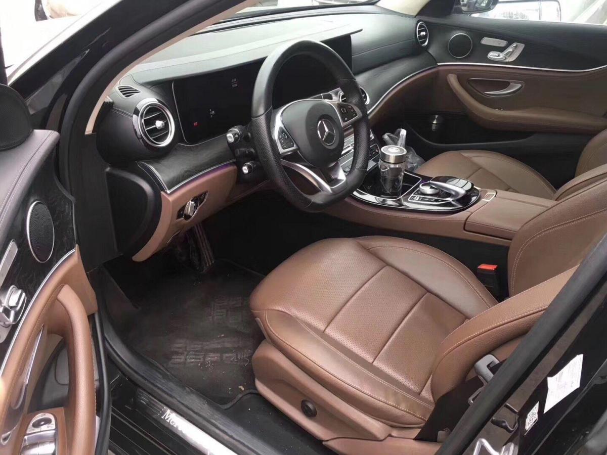 奔驰 奔驰E级  2017款 E 300 L 豪华型图片