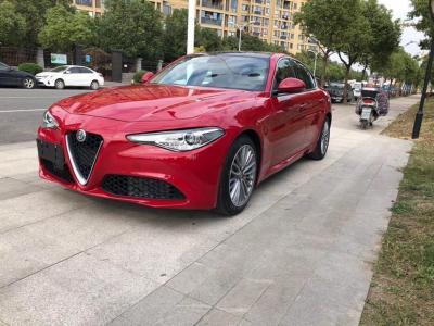 2017年10月 阿爾法·羅密歐 Giulia  2.0T 200HP 豪華版圖片