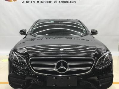 奔馳 奔馳E級  2017款 E 300 L 運動豪華型圖片