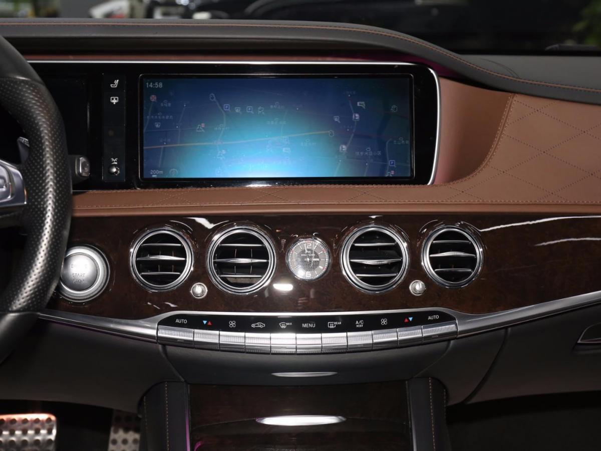 奔驰 奔驰S级AMG  2014款 AMG S 65 L图片