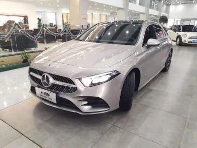 2019年6月 奔驰 奔驰A级   改款 A 200 L 运动轿车图片