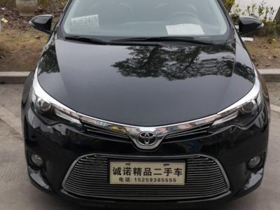 丰田 雷凌  2016款 1.6G-L CVT领先版图片