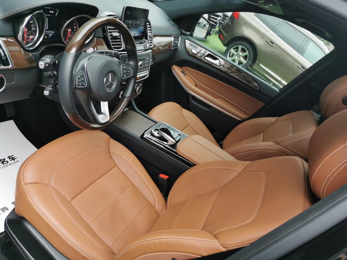 奔驰 奔驰GLS  2018款 改款 GLS 500 4MATIC图片