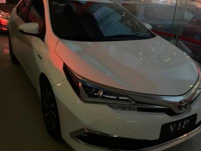 2018年8月 丰田 卡罗拉  改款双擎 1.8L E-CVT精英版图片
