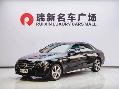 2018年6月 奔驰 奔驰E级  改款 E 300 L 运动时尚型图片