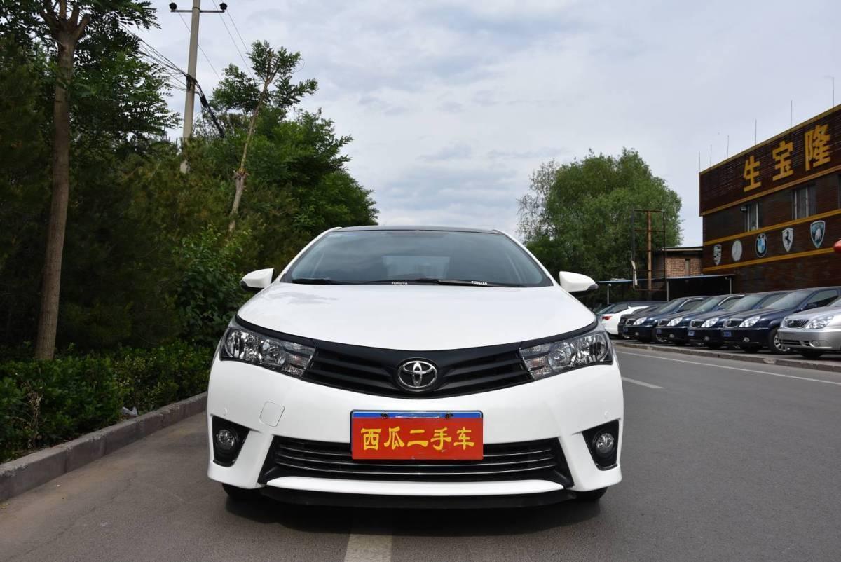 丰田 卡罗拉  2014款 1.6L CVT GL-i真皮版图片