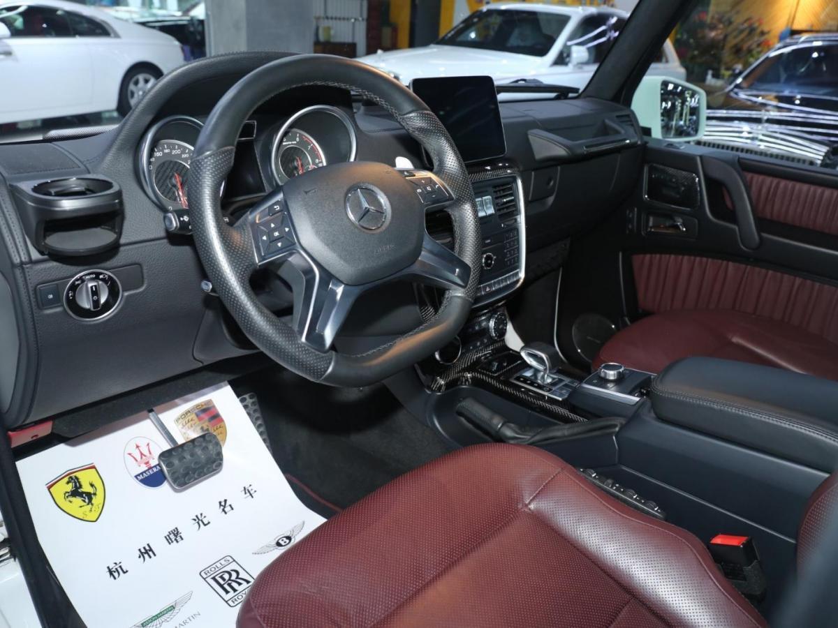 奔驰 奔驰G级AMG  2016款 AMG G 63图片