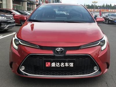 2019年8月 丰田 雷凌   185T CVT运动版 国VI图片