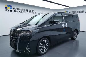 2018年7月 丰田 埃尔法  改款 3.5L 尊贵版图片