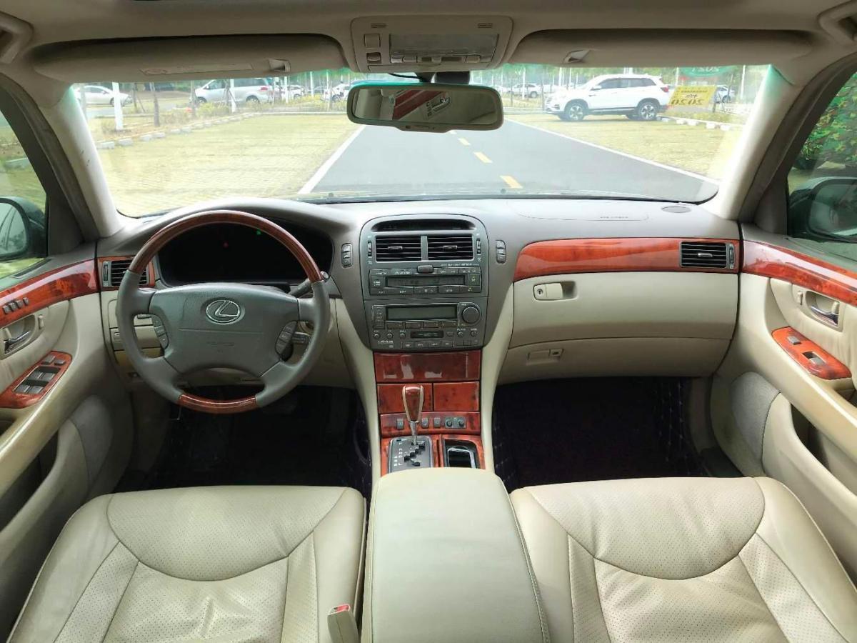雷克萨斯 LS  2004款 430图片