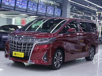 丰田 埃尔法  2018款 改款 3.5L 尊贵版
