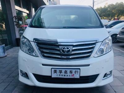 2013年8月 丰田 埃尔法  3.5L 豪华版图片