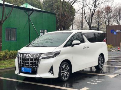2019年4月 丰田 埃尔法(进口) 改款 3.5L 尊贵版图片