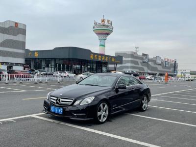 2014年6月 奔驰 奔驰E级(进口) E 200 CGI Coupe图片