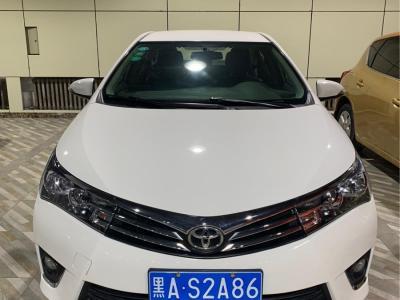 丰田 卡罗拉  2017款 1.2T CVT GL图片