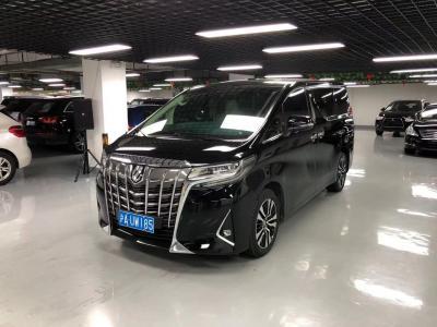 2019年3月 丰田 埃尔法(进口) 改款 3.5L 豪华版图片