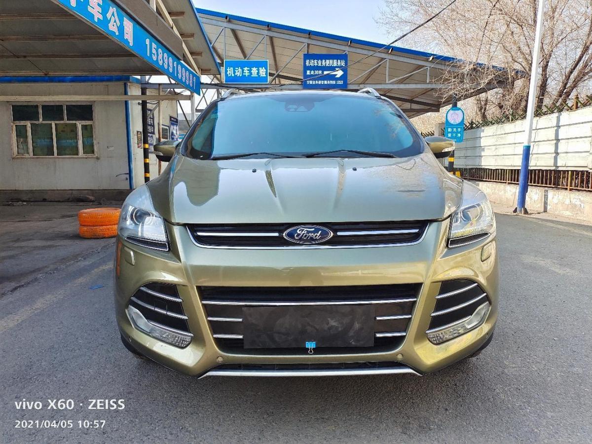 福特 翼虎  2013款 2.0L GTDi 四驱精英型图片