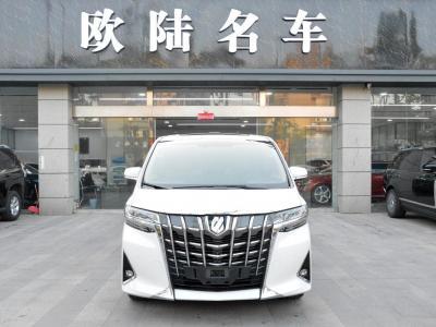 2018年10月 丰田 埃尔法(进口) 改款 3.5L 尊贵版图片
