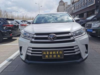丰田 汉兰达  2018款 2.0T 四驱豪华版 7座 国VI