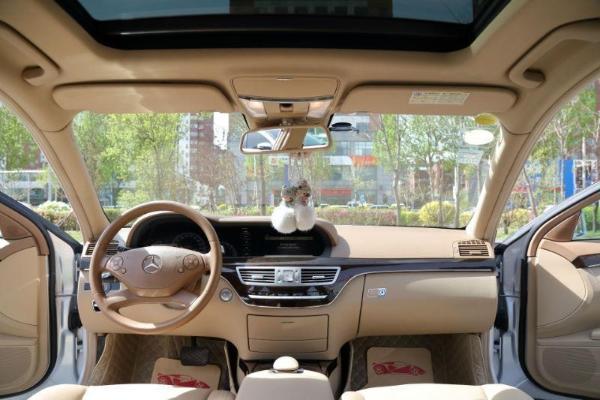 【沈阳】2009年10月 奔驰 s级 s300l 3.0 商务型 银灰 自动档