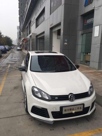 【郑州】2012年11月 大众 高尔夫 golf r 2.0tsi 白色 手自一体图片