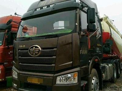 解放j6P半掛水泥罐車,國五排放圖片