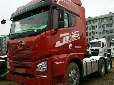 解放jH6拖头500马力,国五8个月车