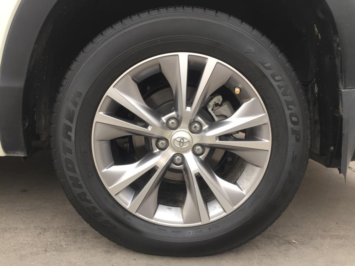 丰田 汉兰达  2015款 3.5L精英版图片