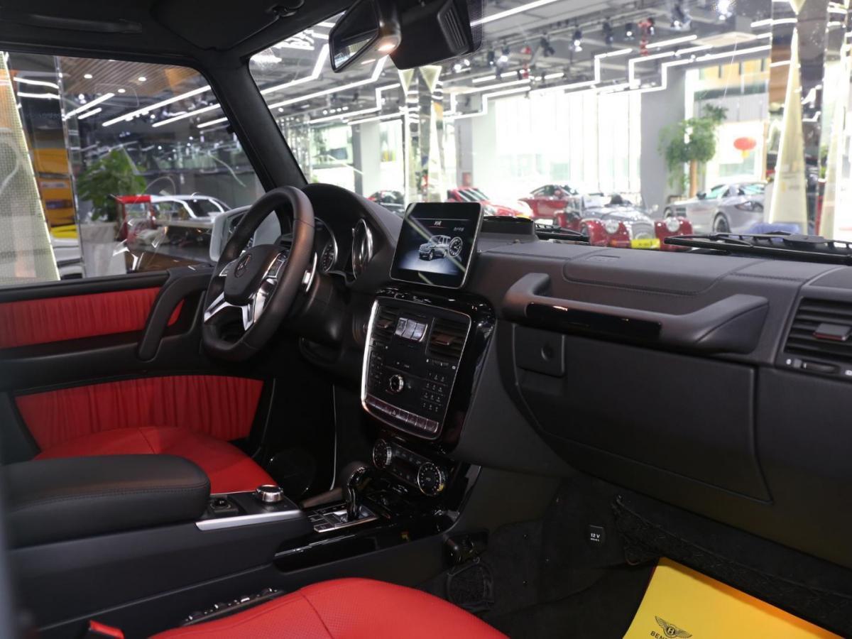 奔驰 G级  2016款 G500 4.0T 4MATIC图片
