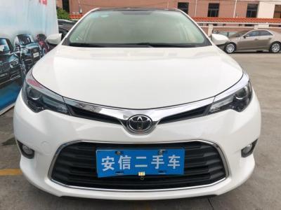 丰田 雷凌  2017款 185T CVT领先版