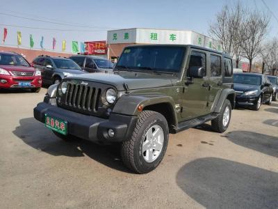 2016年7月 Jeep 牧马人  2.8T 四门 柴油版图片