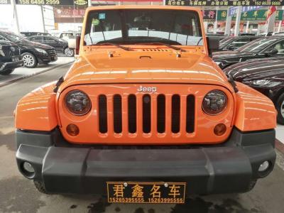 2013年6月 Jeep 牧马人(进口) 3.6L 四门 舒享版图片