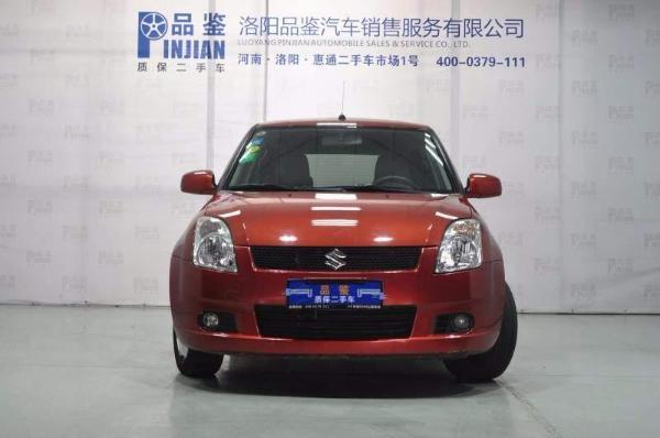 【台湾】2009年8月铃木云豹1.3超值版雨燕自动档洛阳红色装甲图片
