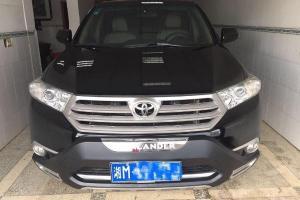 2014年7月 丰田 汉兰达 2.7 紫金版7座