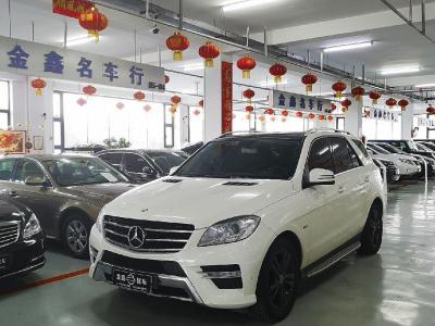 奔驰 ML级  2012款 ML350 3.5L 4MATIC 豪华型