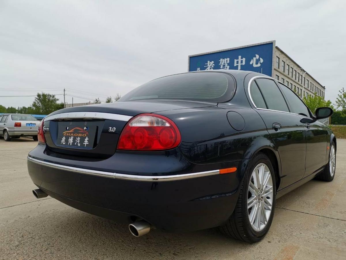 捷豹 S-Type  2006款 3.0动感典藏版图片
