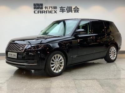 2019年1月 路虎 揽胜(进口) 3.0 V6 SC Vogue 传世加长版图片