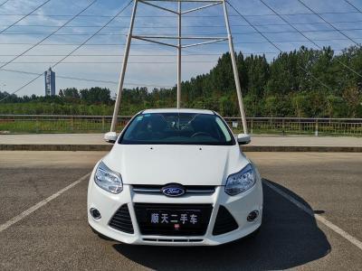 2012年10月 福特 福克斯 两厢 1.6L 自动风尚型图片