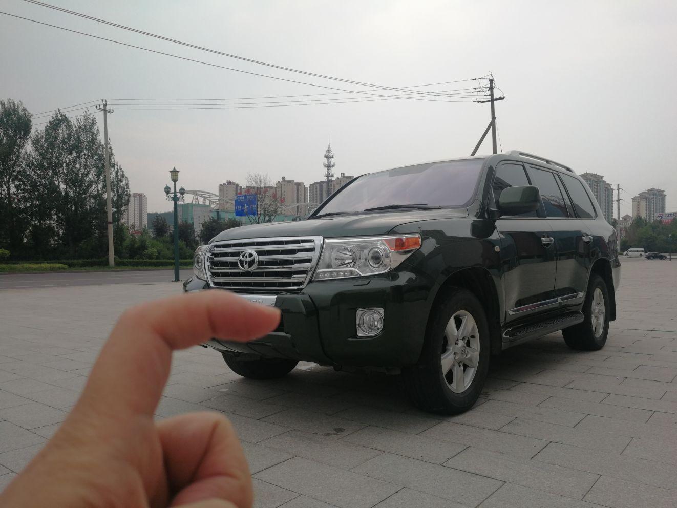 2013年6月 丰田 兰德酷路泽  4.7L 自动GX-R豪华DVD版图片