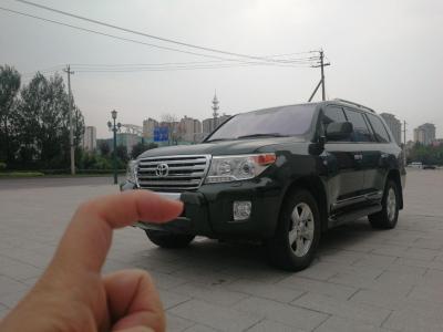丰田 兰德酷路泽  2010款 4.7L 自动VX