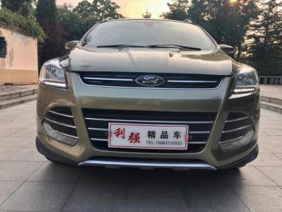 福特 翼虎  2013款 1.6L GTDi 四驅精英型