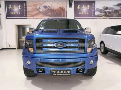 福特 F-150  2015款 F-150 5.0 Platinum SuperCrew 6.5ft 四驱 FFV 美规版
